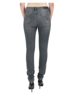 Angels Jeans Skinny - Power Stretch Grey Denim - Anthrazit - Hinten