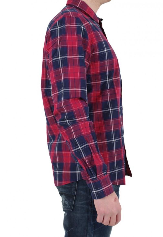 LTB Casual Hemd - Slim Fit - Rot