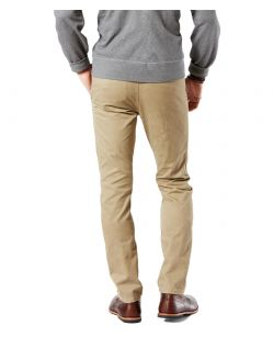 DOCKERS ALPHA - Original Skinny - New British Khaki - Hinten