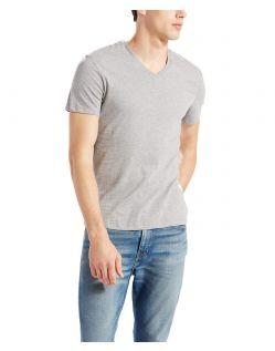 LEVI'S T-Shirts - Doppelpack V-Neck  - weiß / grau