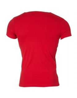 Gin Tonic Basic T-Shirt - Tight Fit - Rot h