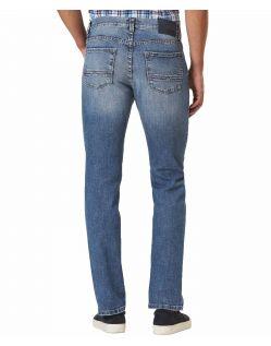 Pioneer Rando Jeans - normaler Schnitt in Mittelblau - hinten
