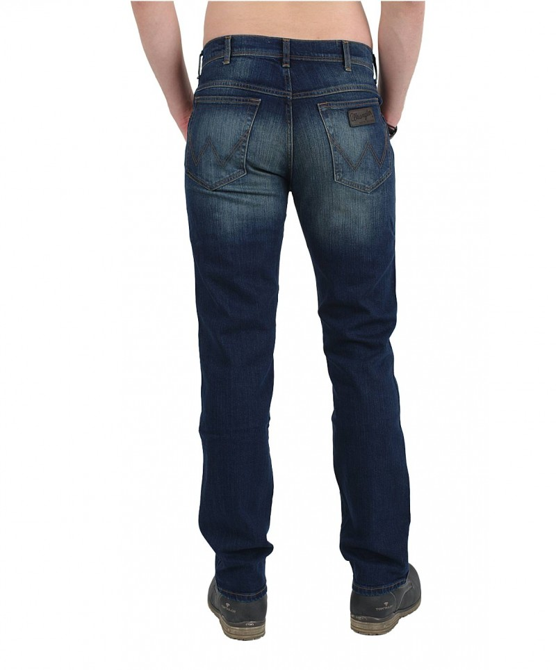 WRANGLER TEXAS STRETCH Jeans - Holed Up
