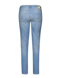MAC Melanie - Slim Fit Jeans - Light Blue Wash - Hinten