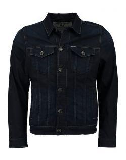 GARCIA RAUL - Jeansjacke - Blue Black Used