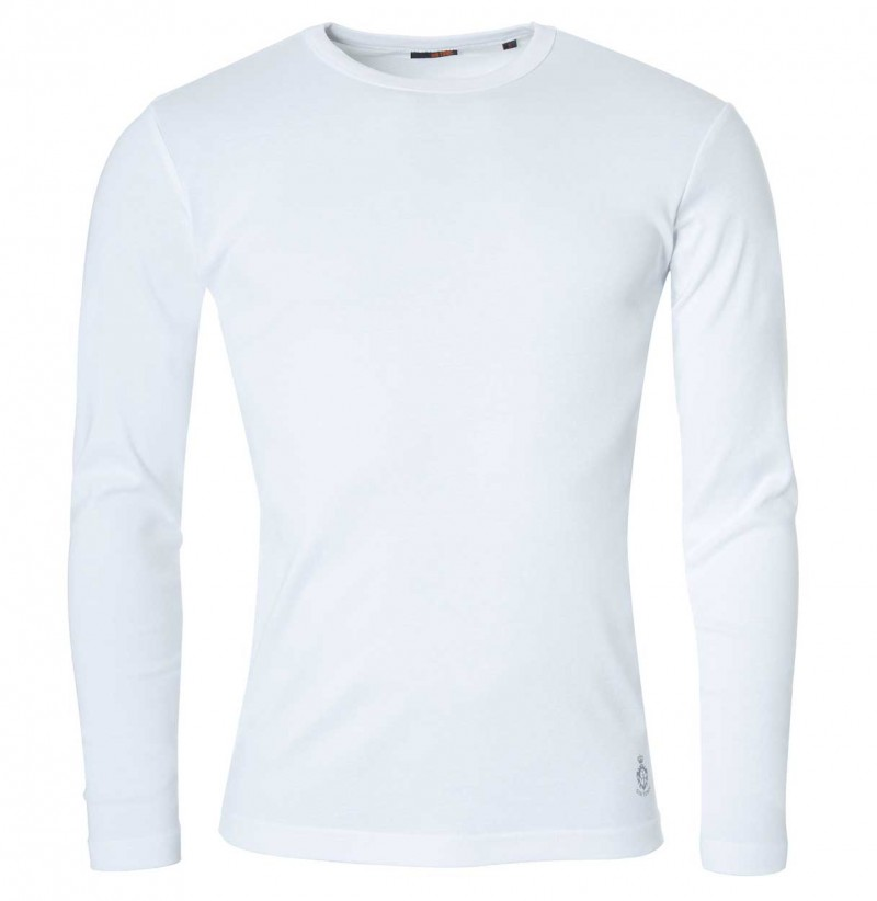 Gin Tonic - Longsleeve - Tight Fit - Weiß