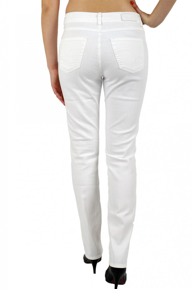 Angels Cici Jeans - Regular Fit -  Weiss