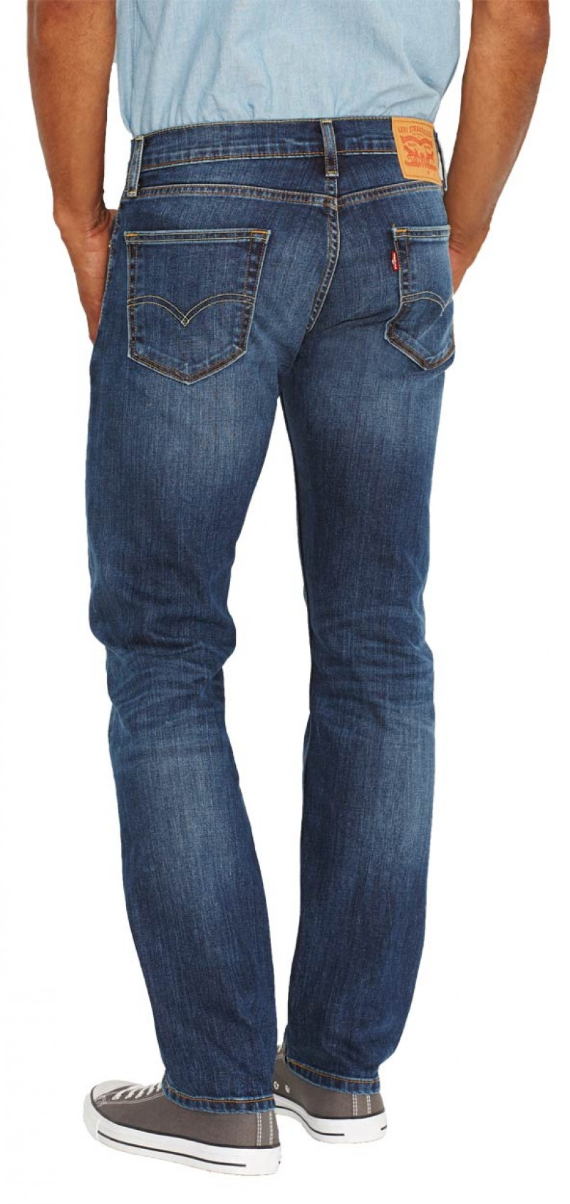 Levis 504 Jeans - Straight Leg - Cloudy