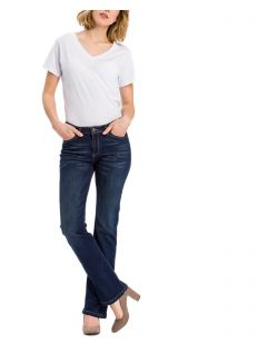 Cross Lauren - Regular-Fit Jeans mit weitem Bein