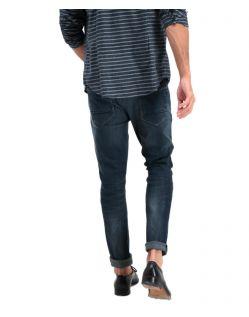 Garcia Savio - Slim-Fit Jeans in klassischem Indigoblau - Hinten