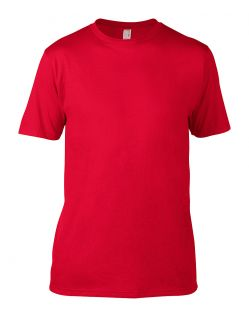 Anvil Knitwear - T-Shirt Sustainable - Rot