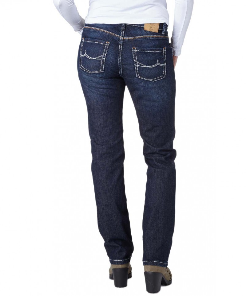 Pionner SALLY Jeans - Slim Fit - Dark Blue Used