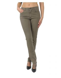 Angels Cici - Straight Jeans in hellem Khaki
