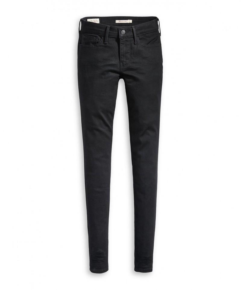 Levi`s Super Skinny 710 Sculpt 17780-0039 Mid waist  Jeans Damen Schwarz