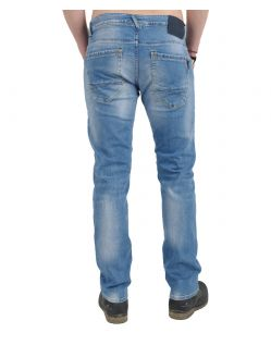 GARCIA RUSSO Jeans - Straight Leg - Light Used - Hinten