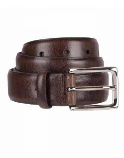 DOCKERS ICONIC BEST Pressed Belt - Ledergürtel - Braun