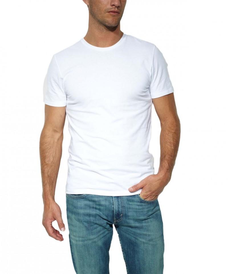 LEVI'S T-Shirt 2 Pack Crew Tee - Slim Fit - Grau