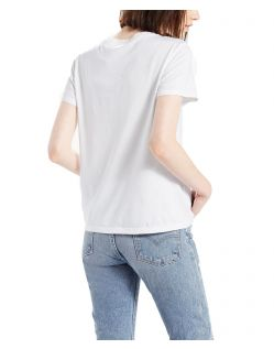 Levi's T-Shirt - Perfect Pocket Tee - White - Hinten
