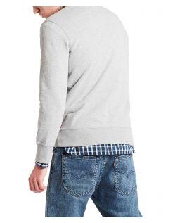 Levis Sweatshirt - Graphic Crew - Medium Grey f02