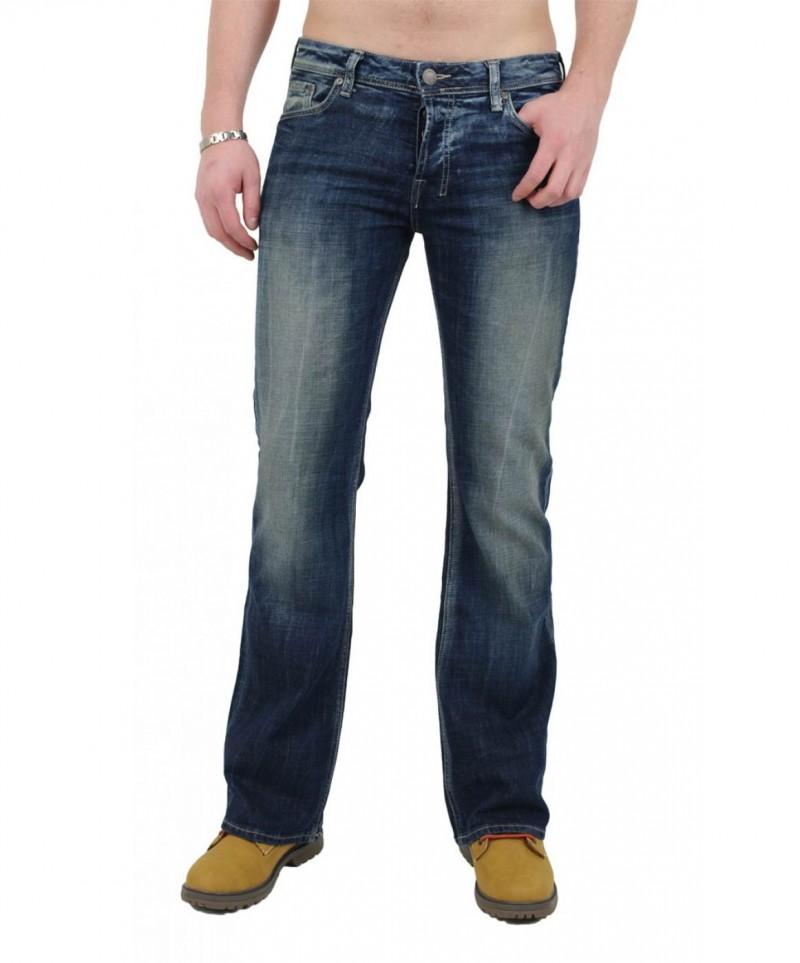 Details zu LTB Herren Jeans Hose Tinman dark blue used *nagelneu * Bootcut Jeans Neuware