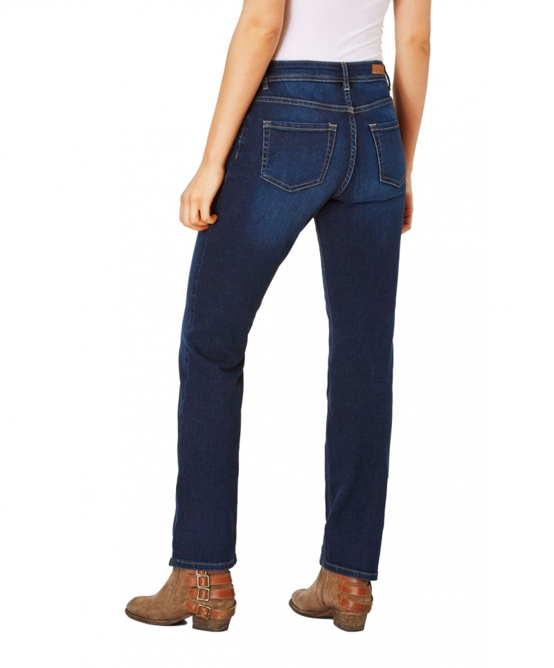 Paddocks Tracy Jeans - Dark Blue Decent Moustache