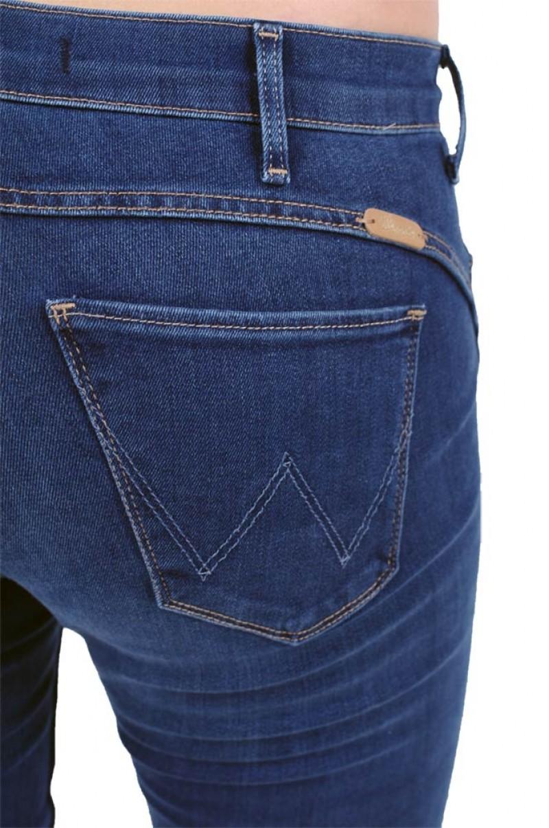 Wrangler Drew Jeans - Shape Keeper - Blue Willow