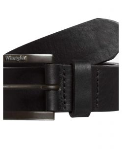 Wrangler Gürtel Kabelbuckle Belt in Black f02