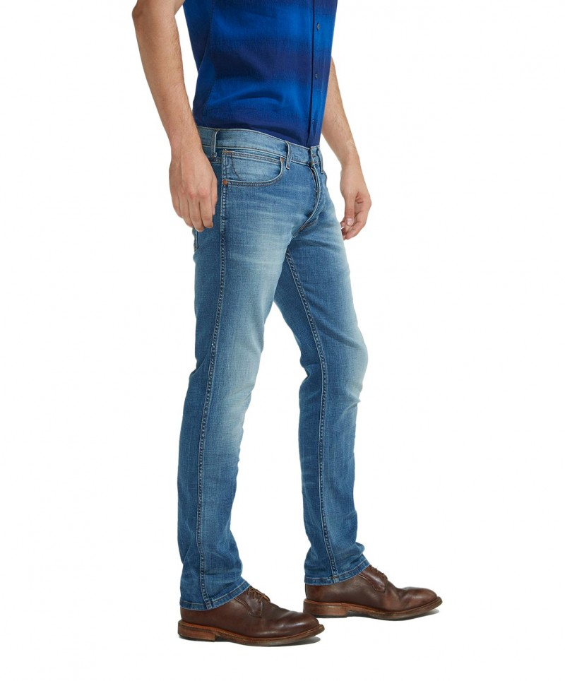 WRANGLER SPENCER Jeans - Slim Straight - Blue Route