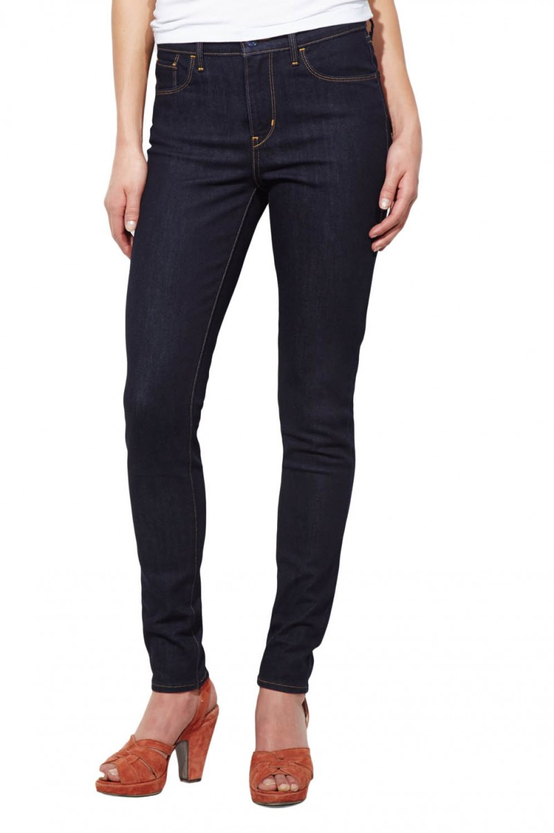 Levis High Rise Skinny - Extra Shade