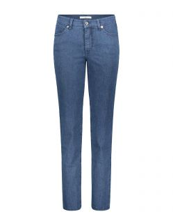 MAC Melanie - Slim Fit Jeans - Mid Blue Basic