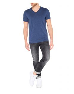 Colorado Joaquim - V-Neck T-Shirt - Mood Indigo Mel