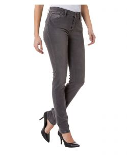 CROSS Anya - High Waisted Jeans - Grau - Seite