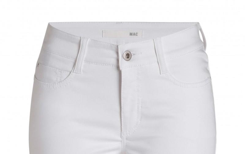 Mac Angela Hose - Summer Cotton - White