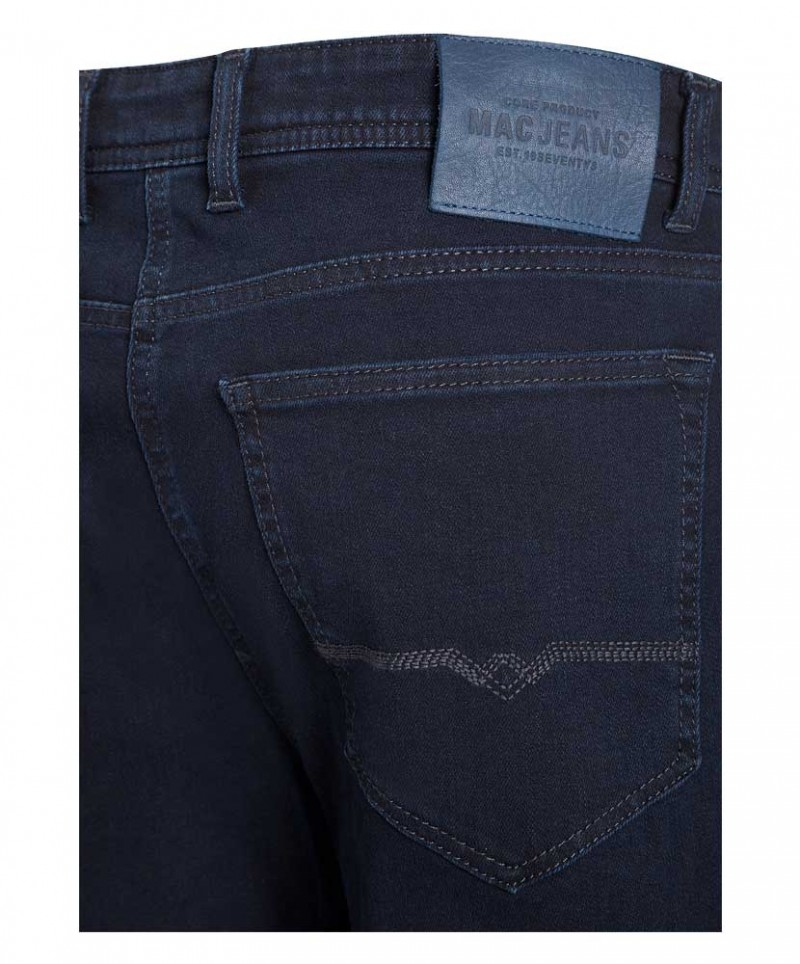 Mac BEN PiPE - Smart Denim 360 ° - Blue Black