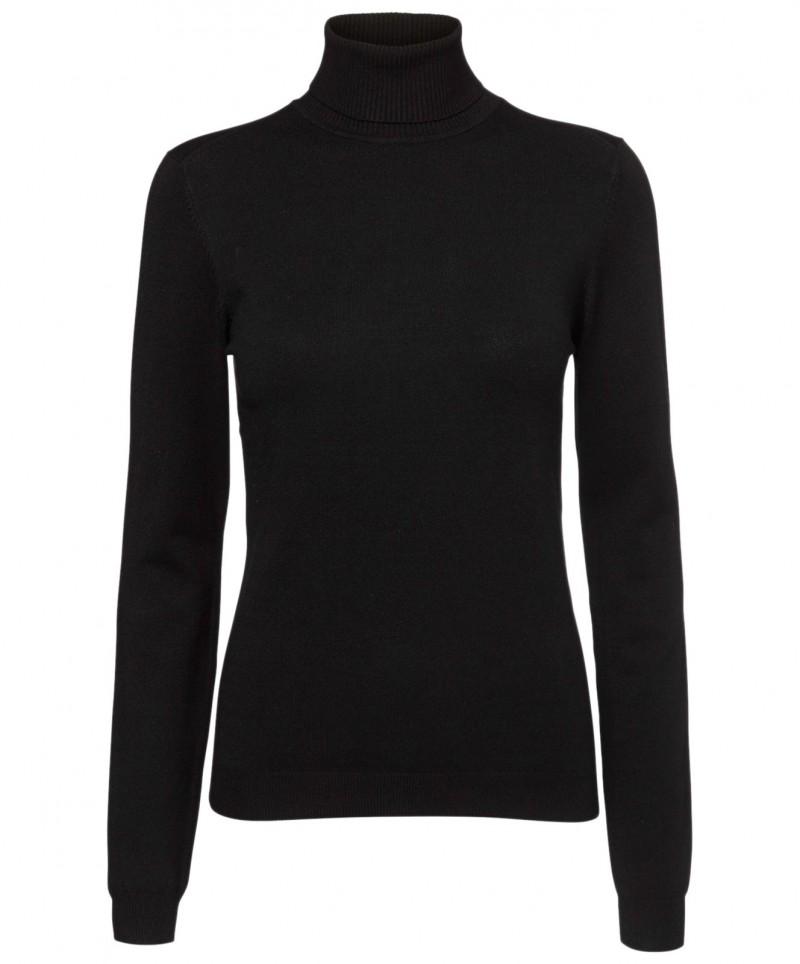 Vero Moda Glory - Schwarzer Rollkragenpullover für 21,95 € billig kaufen c8f678c464