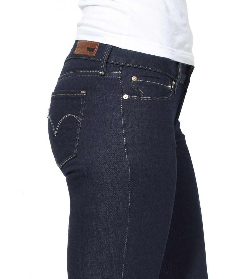 Levis Demi Curve Skinny Jeans Richest Indigo