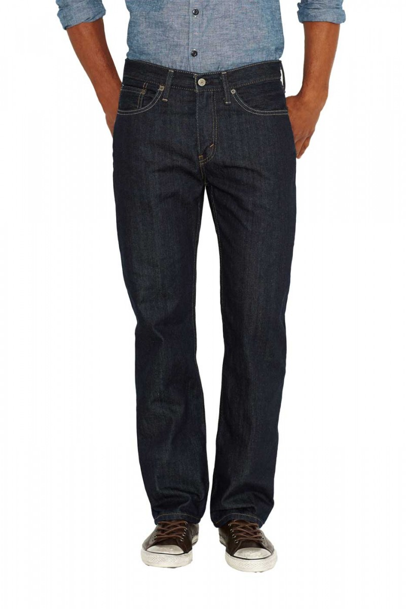 Levis 514 Jeans - Slim Straight - Tumbled Rigid