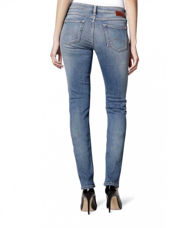 Mustang Jasmin Slim Jeans - Brushed Bleached
