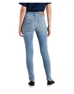 Levis 720 - Hellblaue High Waisted Skinny Jeans f02
