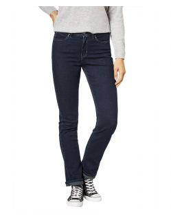 Paddocks Kate - Straight Leg Jeans in Blue Black Färbung