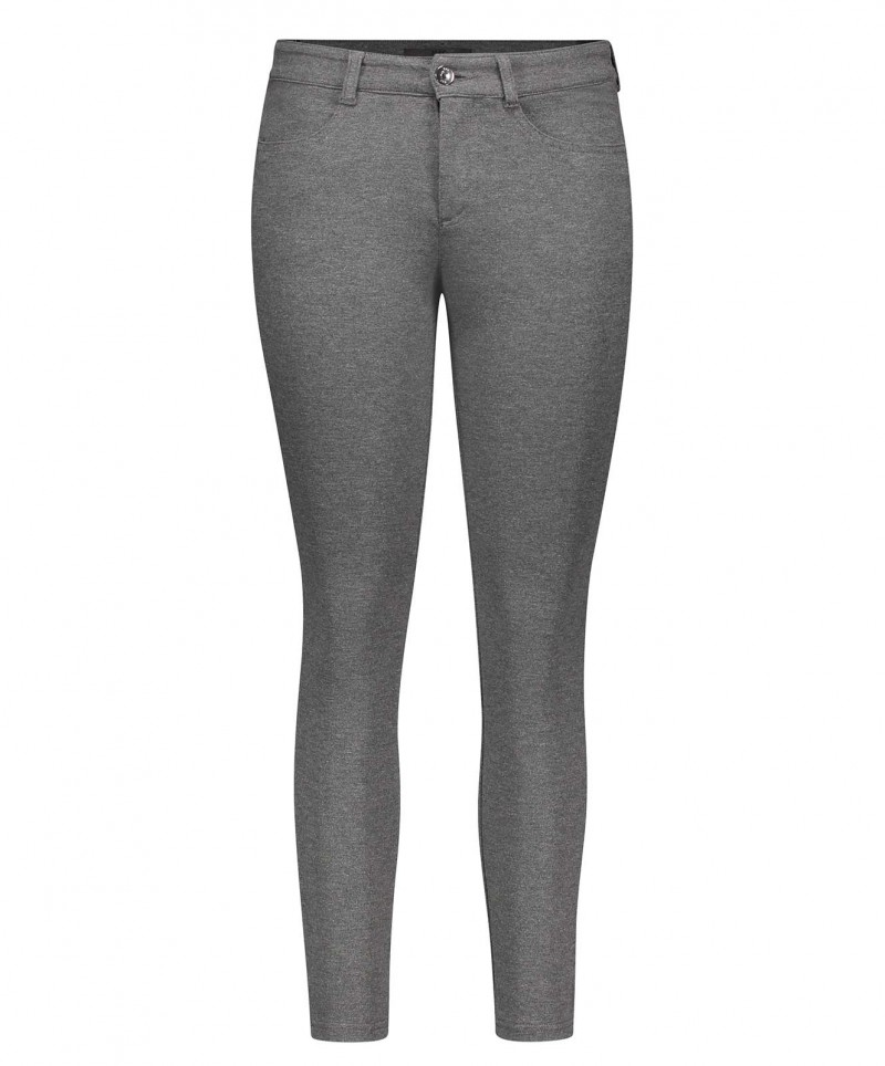 MAC COSIMA - Jersy Legging - Graphit Grey Melange