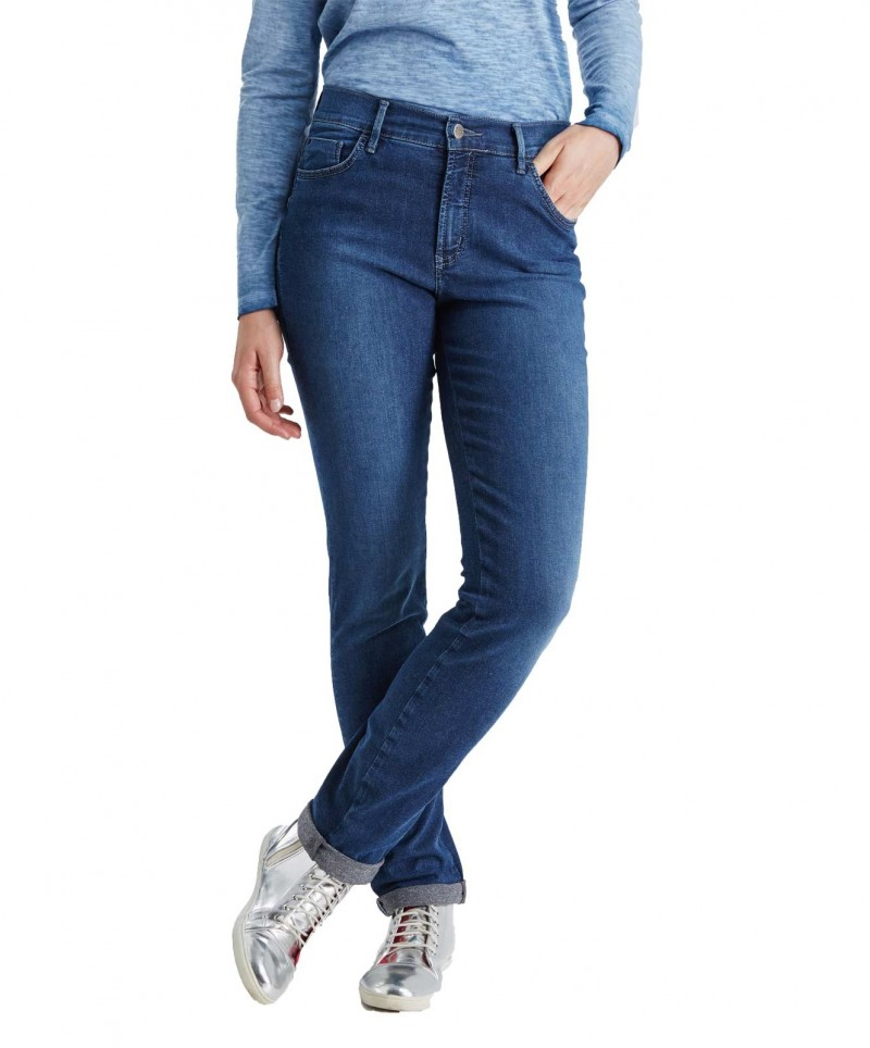 PIONEER SALLY Jeans - Dark Blue Used with Buffies