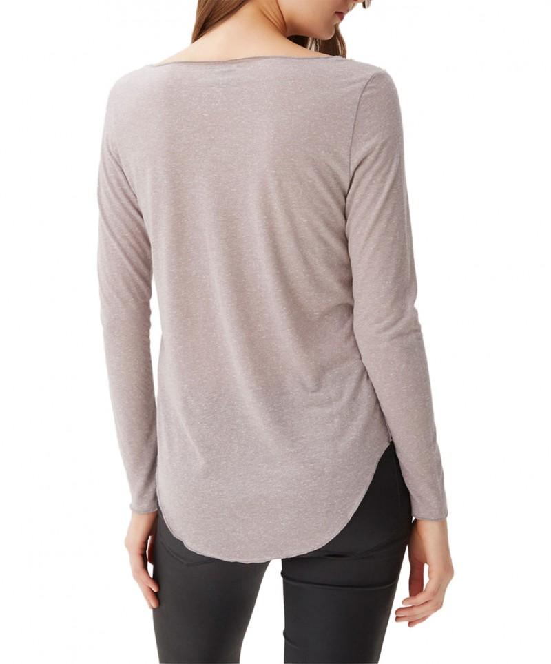 VERO MODA LUA - Langarm Shirt - Light Grey Melange