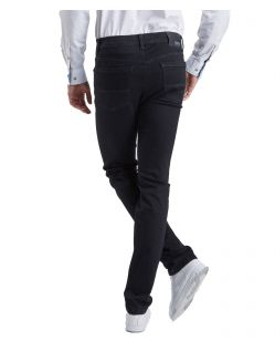 Pioneer Jeans Rando - Regular Fit - Megaflex Stretch - Schwarz - Hinten