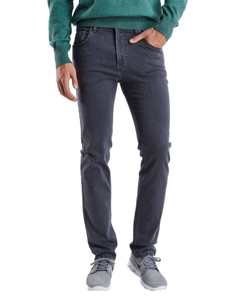 Pioneer Jeans Rando - Regular Fit - Megaflex Stretch - Grau