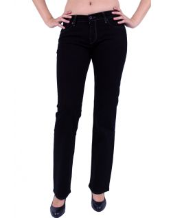 Mustang Girls Oregon Jeans - Slim Leg - Midnight Black f104