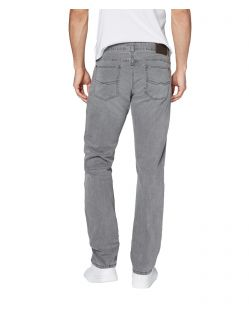 Corolado Denim - Classic Slim Fit Jeans in hellgrau - Hinten