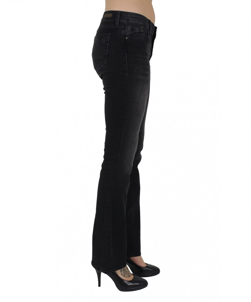 MAVI BELLA Jeans - Slim Bootcut - Smoke Night Str