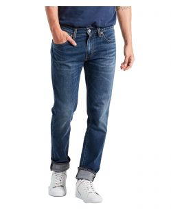 Levis 511 - Slim Fit Jeans im Used-Look in mittlerer Waschung