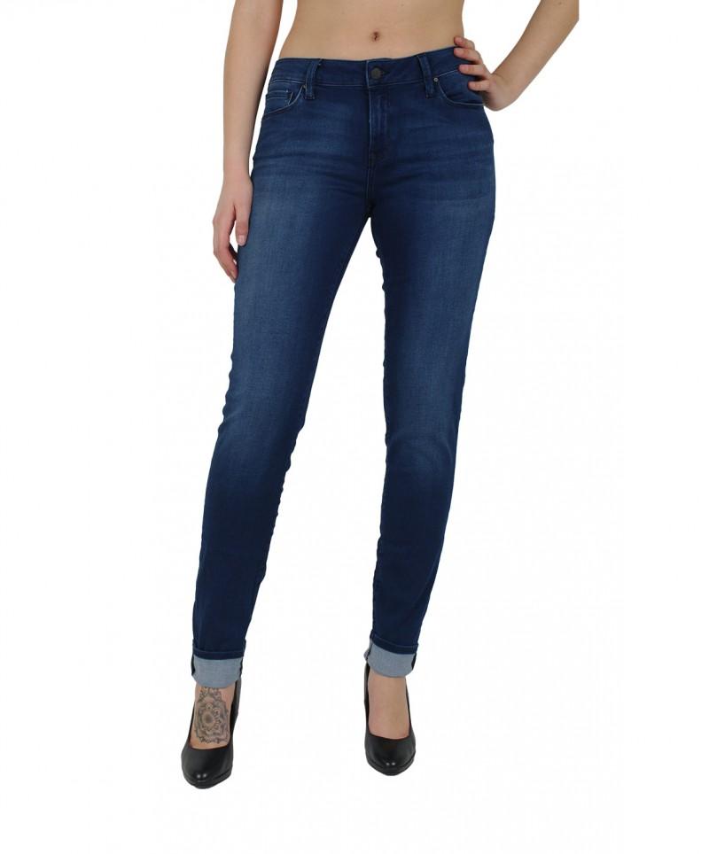 MAVI NICOLE Jeans - Super Skinny - Deep Used
